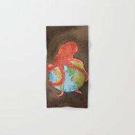Octopus and Earth Hand & Bath Towel