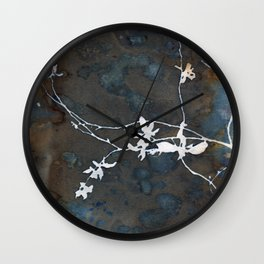 Weathered Vine Wall Clock