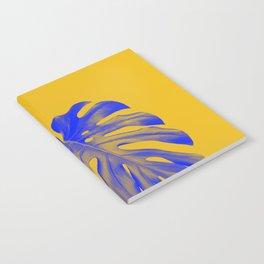 blue leaf Notebook