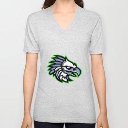 American Harpy Eagle Mascot Unisex V-Neck