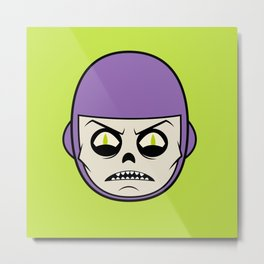 Deathray Head Metal Print