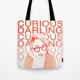 Danielle as Curious Darling Tote Bag
