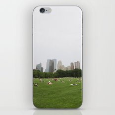 Sheep Meadow, Central Park, NYC iPhone & iPod Skin