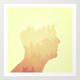 Mind trees Art Print