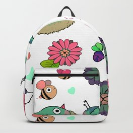 Birbs and Bees Backpack