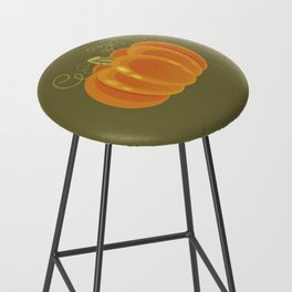Pumpkin Bar Stool