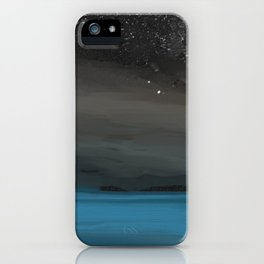 Light Show in the Sky iPhone Case