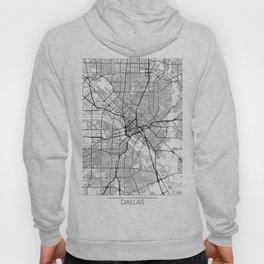 Dallas Map White Hoody