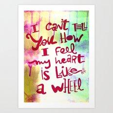 let me II Art Print