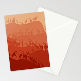 The Giraffe Hills Stationery Cards