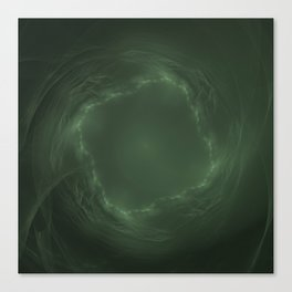 Emerald Eye Canvas Print