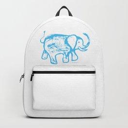 Blue elephat Backpack