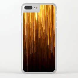 Golden Rain Deco Modern Clear iPhone Case