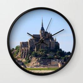 MontSt.Michel_20180701_by_JAMFoto Wall Clock