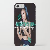 minaj iPhone & iPod Cases featuring Up All Night by Nicki Minaj Spain