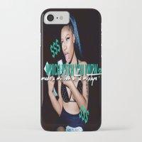 minaj iPhone & iPod Cases featuring Up All Night by Nicki Minaj Spain
