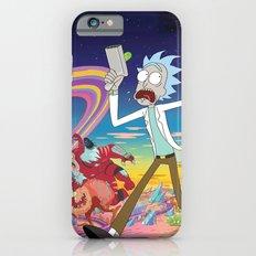 Rick and Morty - alien landscape iPhone 6s Slim Case