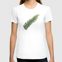 fern T-shirts featuring Fern by Pioforsky