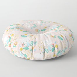 Monty Mouse and Carlie Cat Floor Pillow