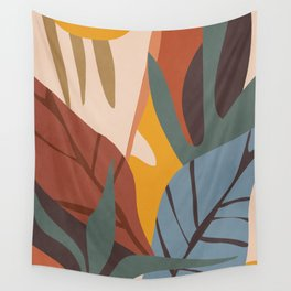 Abstract Art Jungle Wall Tapestry