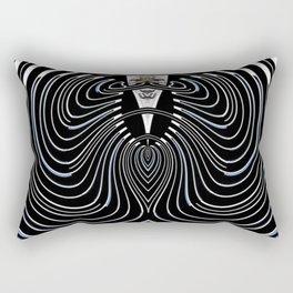 The First Place Winning Beard Abstract Rectangular Pillow