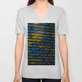 Code Master (Color) Unisex V-Neck
