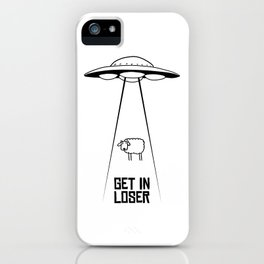 GetInLoser. iPhone Case