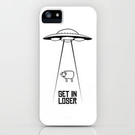GetInLoser. iPhone Case