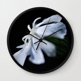 Dragonflower Wall Clock