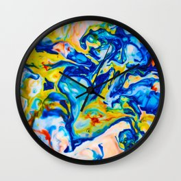 Milkblot No. 7 Wall Clock