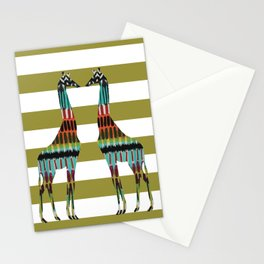 Safari Stripes Stationery Cards