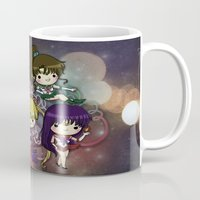 sailor moon Mugs featuring Sailor moon by Madoso