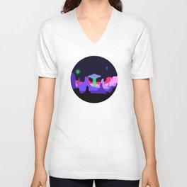 Hello ufo Unisex V-Neck