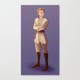 Young Kenobi Canvas Print