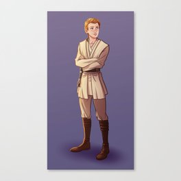 Young Kenobi Canvas Print