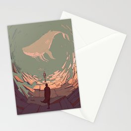 DH: Late Night Whale Stationery Cards