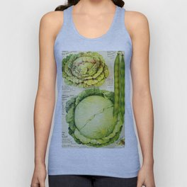 Vintage Vegetable Advertisement (1907) Unisex Tank Top