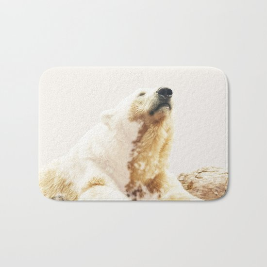 Bear a Charmed Life #society6 #decor #buyart Bath Mat