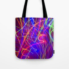 Electric Love Tote Bag
