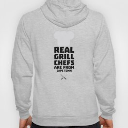 Real Grill Chefs are from Cape Town T-Shirt Dp68p Hoody
