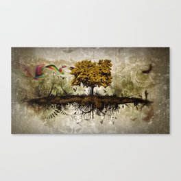 Space in Time  Canvas Print