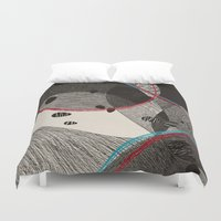 dance Duvet Covers featuring Dance by Julia Tomova