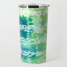 Watercolor texture Travel Mug
