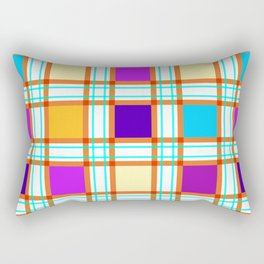 Colorf squares Rectangular Pillow