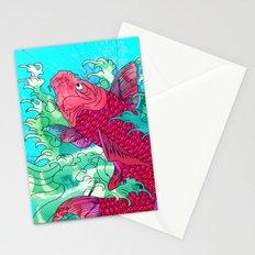 Lucky Koi Stationery Cards