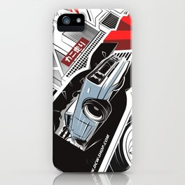 The Master H - Hakosuka Skyline KPGC10 by DCW Classic iPhone Case