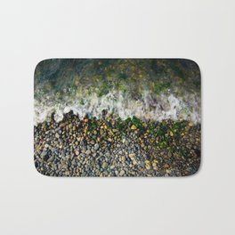 Alki Beach Wave Bath Mat