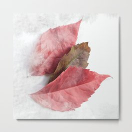 AUTUMN LEAVES #1 #decor #art #society6 Metal Print