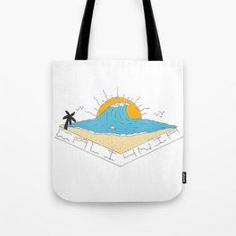 cali4nia Tote Bag