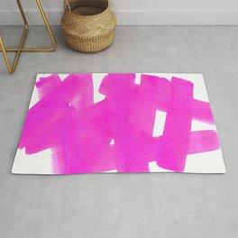 Superwatercolor Pink Rug